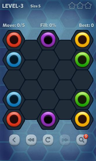 Pipe lines: Hexa für Android