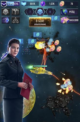 RPG Deep raid: Idle RPG space ship battles für das Smartphone
