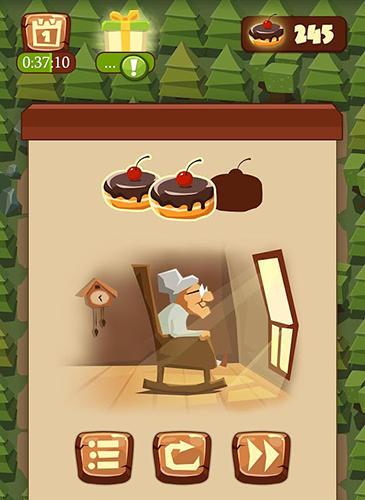 Arcade Bring me cakes: Little Red Riding Hood puzzle für das Smartphone