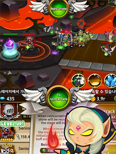 Infinity mercs: Nonstop RPG für Android