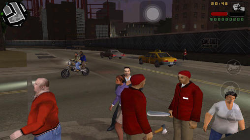 Capturas de tela de Grand theft auto: Liberty City stories