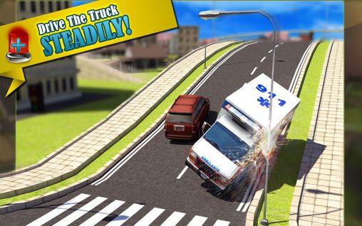 Ambulance: Doctor simulator 3D скриншот 2