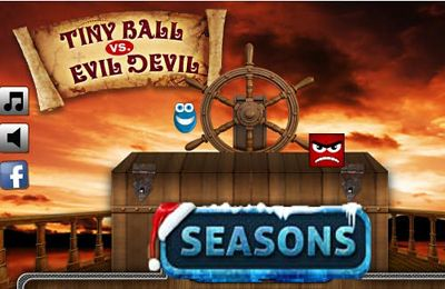 logo Tiny Ball vs. Evil Devil - Christmas Edition