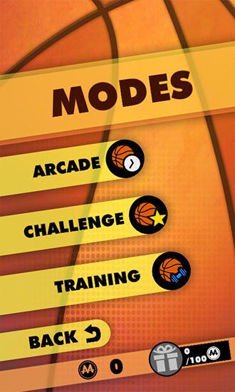 Arcade-Spiele Basketball shooter für das Smartphone