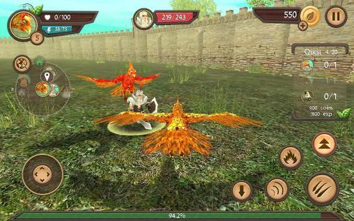 Phoenix sim 3D для Android