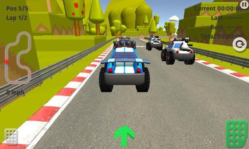 Rennspiele Cartoon racing car games für das Smartphone