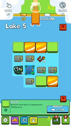 Arcade games: download Clickbait: Tap to fish to your phone