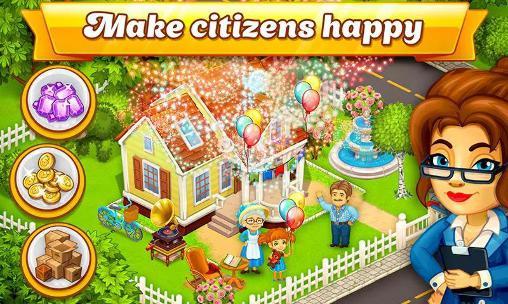 Cartoon city: Farm to village für Android