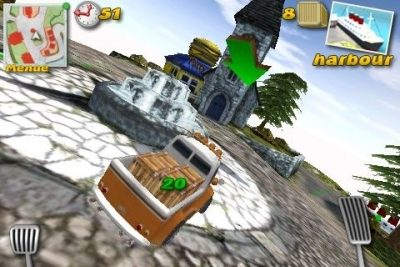 Parcel Panic – Post Car Racer for iPhone for free