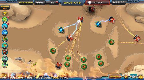 Cтратегії: завантажити Баштова захист: Війна з прибульцями 2 на телефон