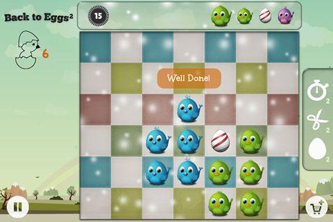 Аркады игры: Back to eggs на телефон iOS