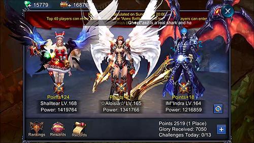 Goddess: Primal chaos. Ru free 3D action MMORPG screenshot 2