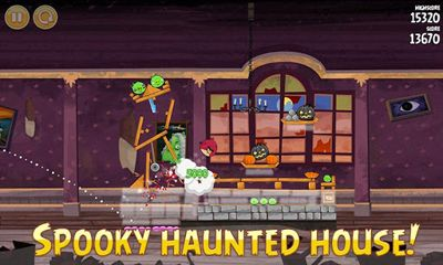 Capturas de tela de Angry Birds Seasons Haunted Hogs!