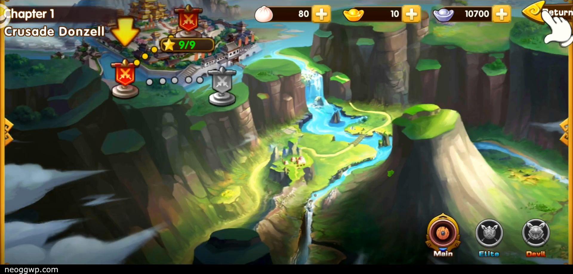Pocket Kingdom TD スクリーンショット1
