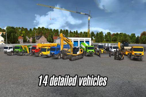 Construction simulator 2014 screenshot 1
