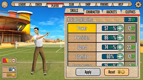 Sportspiele World of tennis: Roaring 20's für das Smartphone