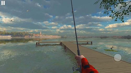 Ultimate fishing mobile captura de tela 1