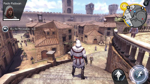 Actionspiele Assassin's creed: Identity auf Deutsch