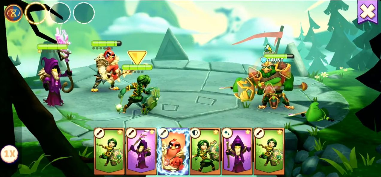 Angry Birds Legends для Android