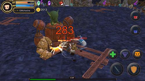 Fantasy-Spiele Pocket of warrior auf Deutsch