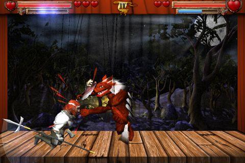 Kampfspiele: Lade Marionetten Kämpfer auf dein Handy herunter