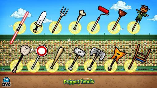 Puppet tennis: Forehand topspin скріншот 1