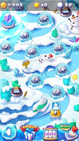 Juegos de arcade Ice crush para teléfono inteligente