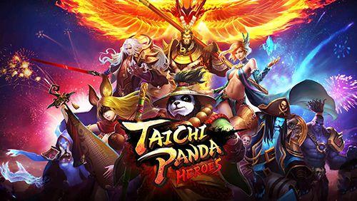 logo Panda taichi: Héros