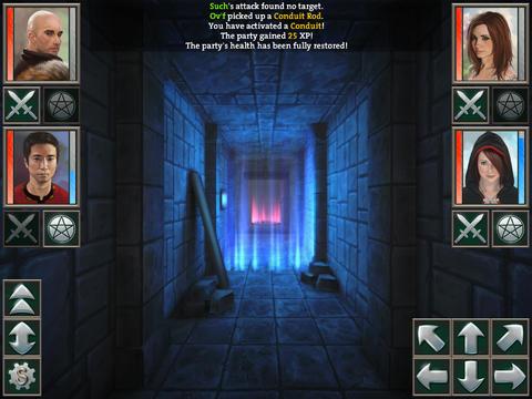 Screenshot Coldfire keep on iPhone