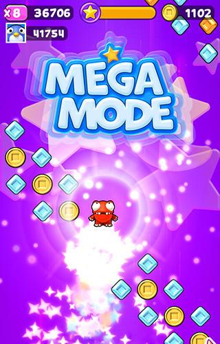 Arcade-Spiele Mega jump infinite für das Smartphone