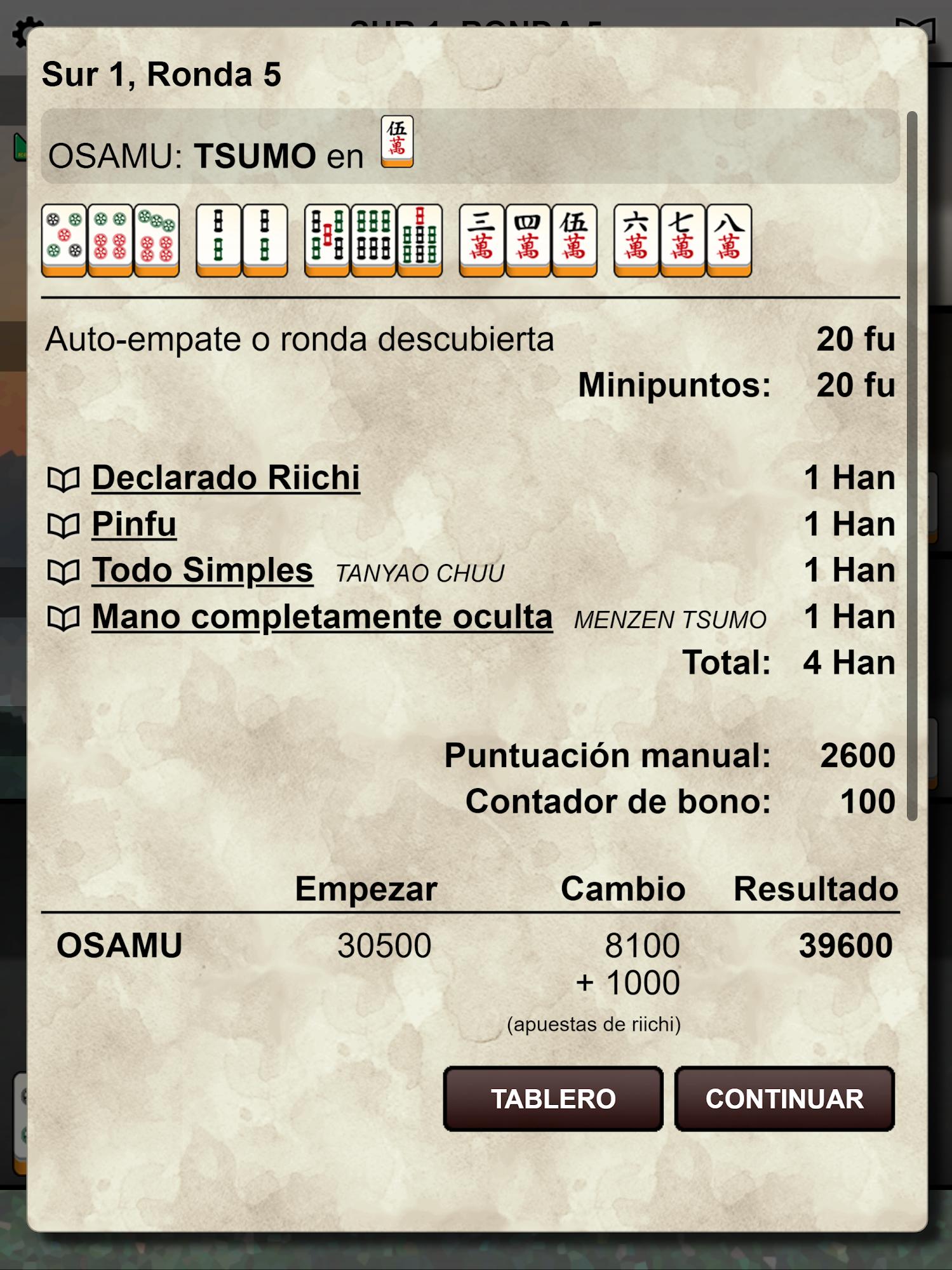 Kemono Mahjong captura de pantalla 1