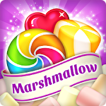 Lollipop and marshmallow match 3 Symbol