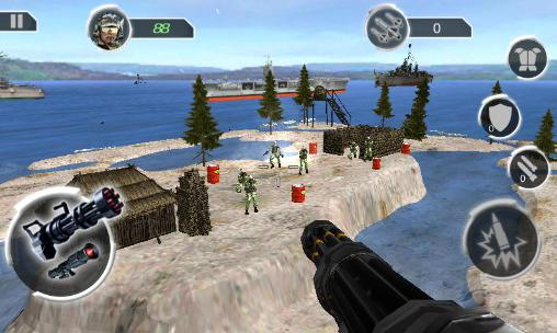 Gunship island battlefield для Android