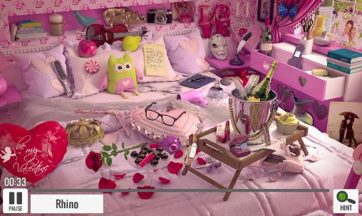 Hidden objects: St. Valentine's day für Android
