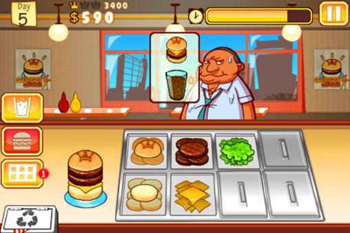 Arcade: Lade Burger Queen auf dein Handy herunter