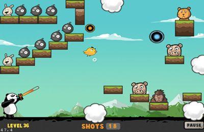 Captura de pantalla Venganza de Panda en iPhone