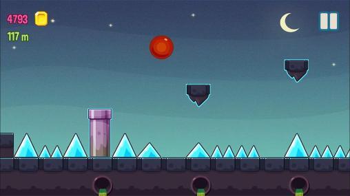 d'arcade Rolling bounce: Ball dash pour smartphone