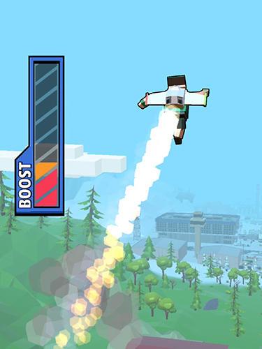 Arcade-Spiele Jetpack jump für das Smartphone