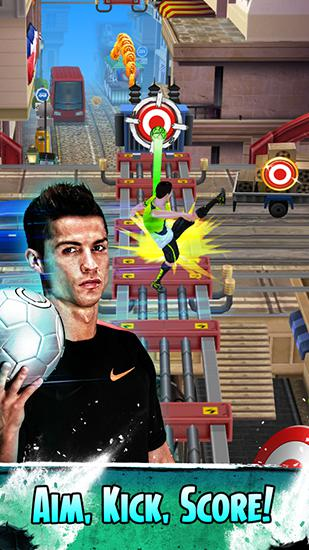 Cristiano Ronaldo: Kick'n'run captura de tela 3