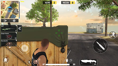 Shooter games Bullet strike: Battlegrounds in English