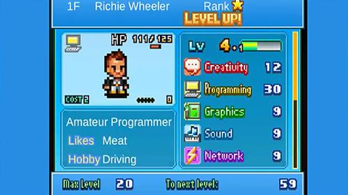Arcade-Spiele Social dev story für das Smartphone