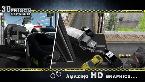 3D prison transporter screenshot 2