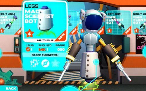 Robot dance party screenshot 2