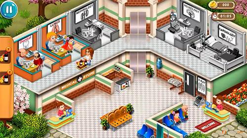 Arcade-Spiele Doctor dash: Hospital game für das Smartphone