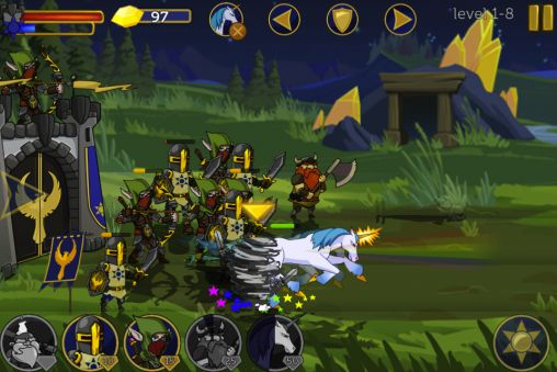 Legendary wars für Android