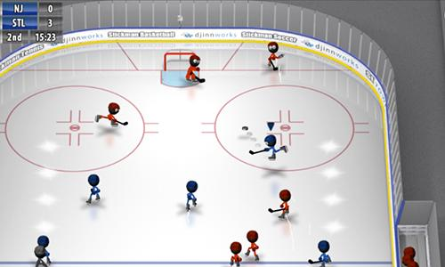 Sports Stickman ice hockey for smartphone