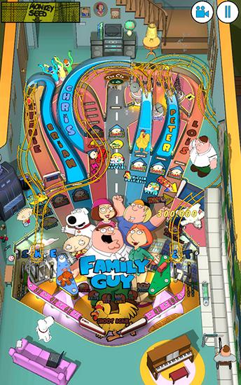 Family guy: Pinball for Android