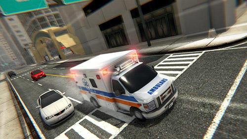 City ambulance: Rescue rush Screenshot