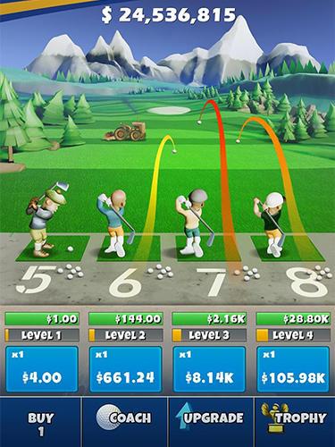 Idle golf auf Deutsch
