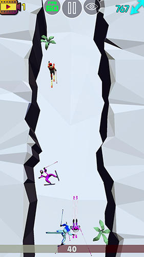 Long step: Ski race для Android